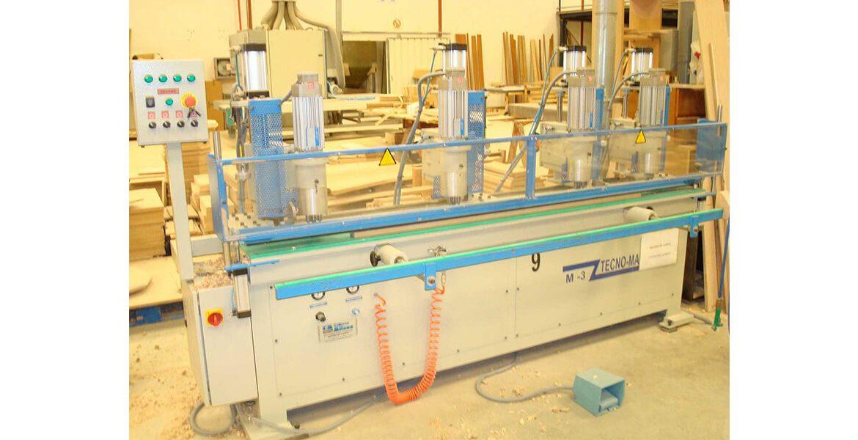 Taladro a la venta para el tratado y procesado de madera de fabricación propia en Valencia España