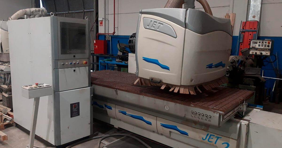 CNC marca Busellato Jet 2
