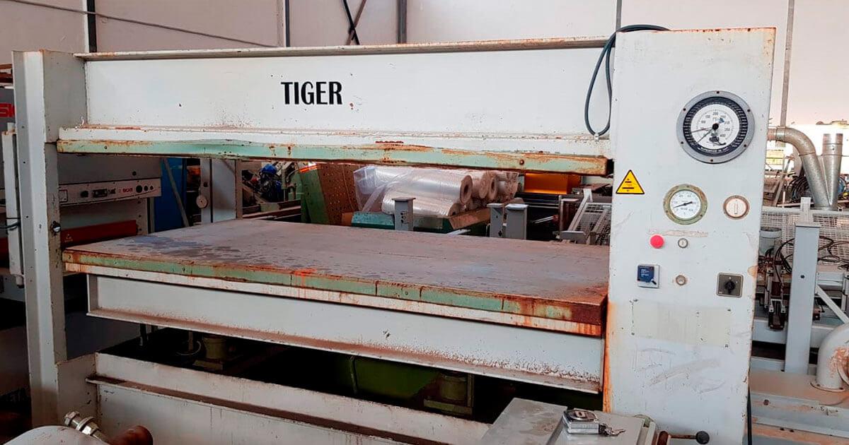 Prensa hidráulica Tiger