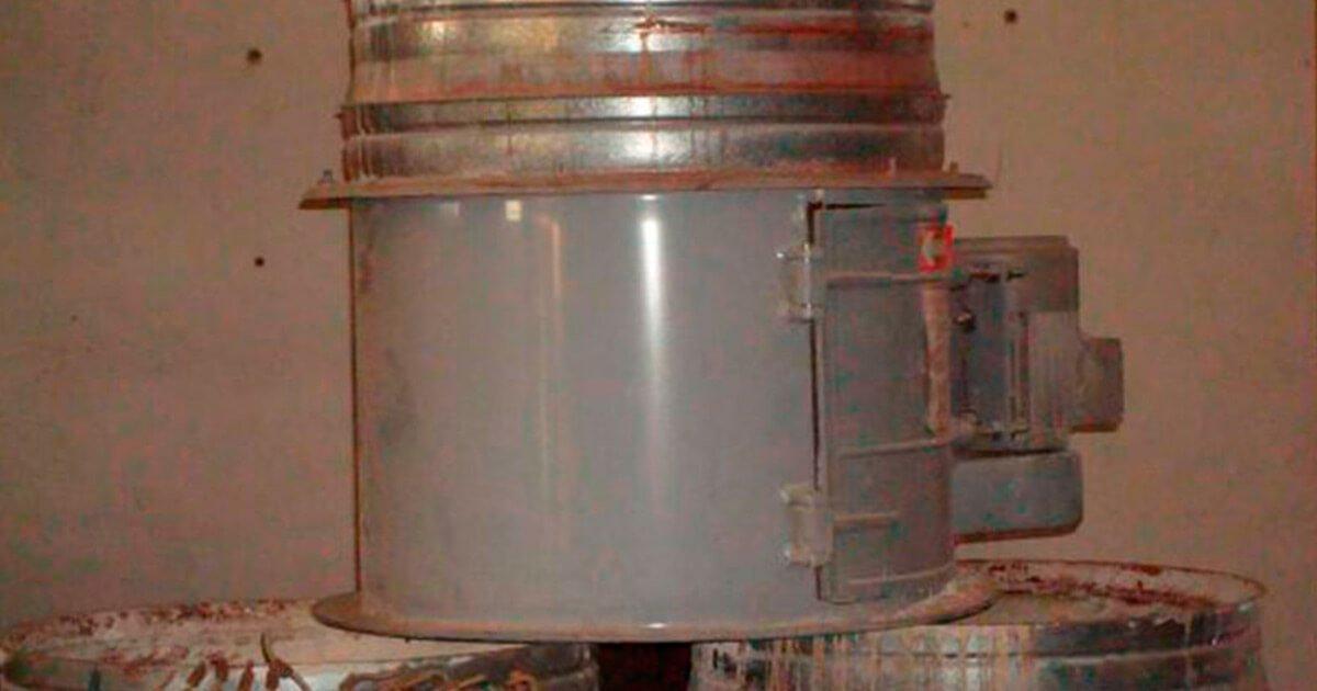 Ventiladores cabina pulimento