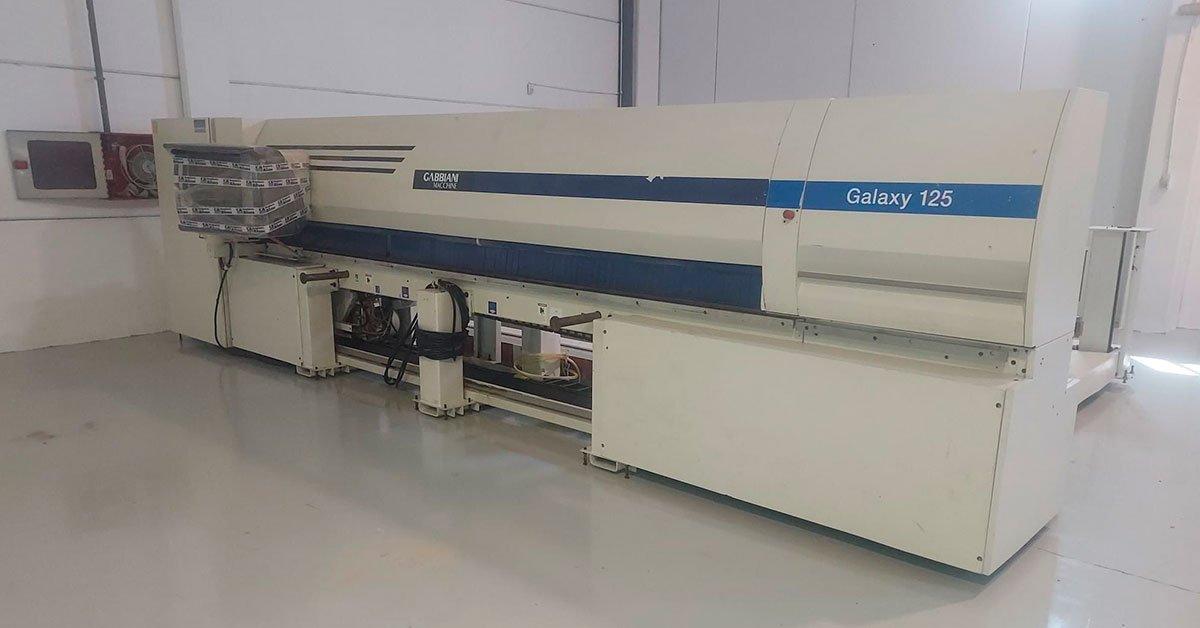 Seccionadora carga automática Gabianni modelo galaxy 125